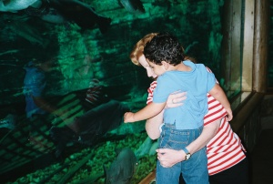 Joey in Cabella's Aquarium