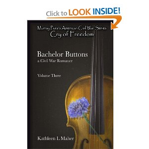 Bachelor Buttons print cover