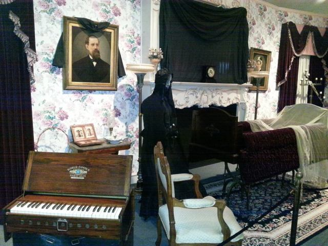 19th century parlor