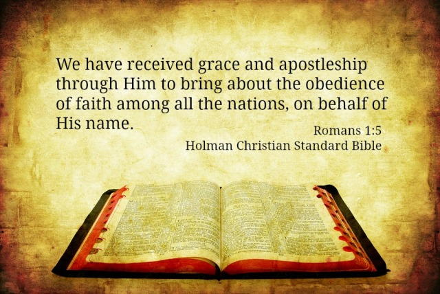 Rm 1:5 verse